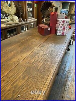 14 Antique Oak Front Bar Or Store Counter Tavern Bar Front Vintage Bar