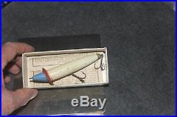 1902 DOWAGIAC Slope Nose Expert Casting Bait Heddon Hand Carved Surface Bait