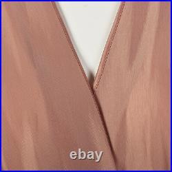 1950s Schiaparelli Dressing Gown Pink House Coat Wrap Robe Designer Lingerie VTG