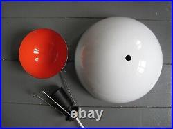 1960s vtg FLOWERPOT space age DANISH MODERN design PANTON louis poulsen