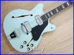 1967 Fender Coronado XII Vintage Guitar Sonic Blue Near Mint 100% Original withohc