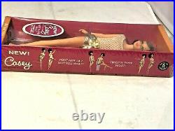 1967 Vintage Barbie Brunette Francie's Friend Casey Doll NRFB Factory Sealed