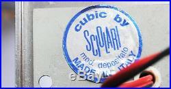 1970S ITALIAN GAETANO SCIOLARI CUBIC CHANDELIER Mid Century Vintage Original