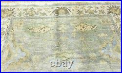 9'x12' Antiquity Hand-knotted Turkish Oushak Tribal Vintage Wool Muted Rugsale
