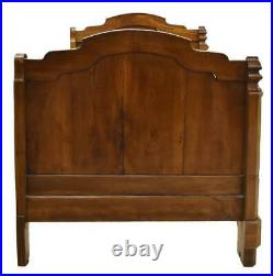 Antique Bed, Day, Alcove, French Carved Walnut, 19th Century, 1800s, Stunning