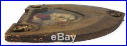 Antique Lippo Vanni 14th C. Original Jesus Oil Painting Old Rare Power Art Relic