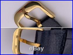 Audemars Piguet 18k Solid Gold Mens Dress Watch. Original Buckle. With Box