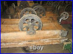 Bulk Lots-Antique Furniture Factory Carts-Industrial Railroad-Coffee tables