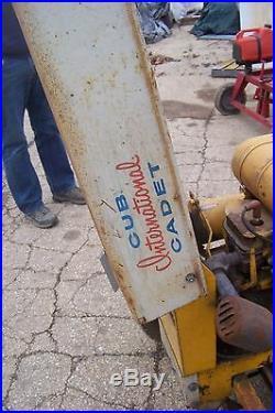 Cub cadet international harvester IH original tractor lawn mower
