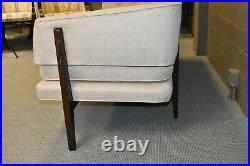 Dunbar Edward Wormley Design Bracket Back 75 Sofa Walnut Frame