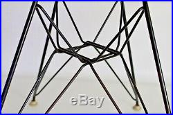Eames Herman Miller Vtg Mid Century Modern Eiffel Tower Zenith Arm Shell Chair
