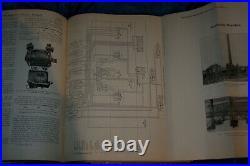 Elektrische Kraftbetriebe und Bahnen Hefte 1 bis 35 1913 antik buch gebunden