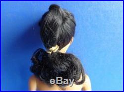 Extremely Rare #1 Brunette Barbie Doll- Very Rare Dark Skin