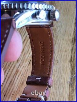 Favre Leuba Sea Sky Valjoux 72 Chronograph HODINKEE ORIGINAL SERVICED Vintage