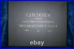 G J Schober GMBH Mech Trikotwarenfabrik Feuerbach Stuttgart 1856 1906 antik buch
