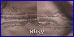 GUCCI Original GG Shoulder Pouch Bag Brown Canvas Vintage Authentic #RR357 S