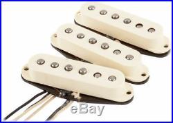 Genuine Fender Original 57/62 White Stratocaster Strat Pickups Set 0992117000