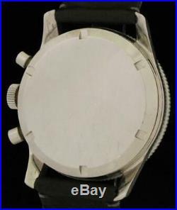 Gorgeous UNIVERSAL GENEVE AERO-COMPAX Vintage CHRONOGRAPH Pilot WATCH 890101/01