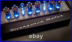 IN-8-2 Nixie Tubes Clock in Vintage Wooden Case 12/24H SlotMachine FREE SHIPPING