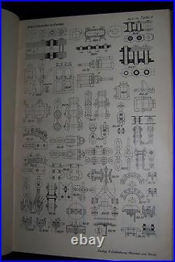 Krell Rudolf 1925 Entwerfen im Kranbau Handbuch für den Zeichentisch Band I + II