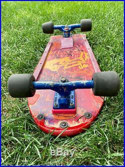Lance Mountain Future Primitive 1984 Original Skateboard with Signature