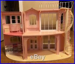 Mattel Barbie 3-Story Dream House Playset 2006 Vintage Foldable