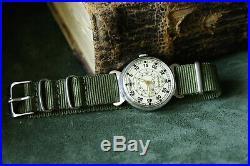 Men's Pobeda Pilot Wings LACO Mechanical Wrist watch Soviet USSR MILITARY ZIM