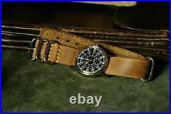 Men's Watch Pobeda Pilot Soviet USSR Mechanical ZIM WristWatch MILITARY