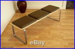 Mid Century Modern Bench Eames Era Retro Vintage