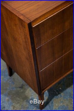 Mid Century Modern Dresser Credenza Kroehler Furniture Walnut Rosewood Vintage