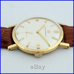 Nice Girard Perregaux 18k Solid Gold Manual Wind Original Vintage Gents Watch