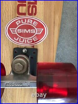 Original'70s SIMS Pure Juice 25 Kitcktail Skateboard. Deadstock