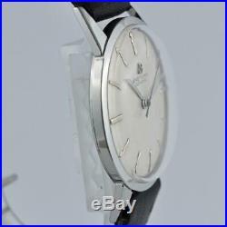 Original Breitling Geneve Swiss Manual Wind Midsize St Steel Vintage Watch