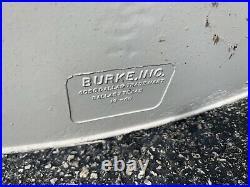 Original Mid Century Vtg Modern Space Age Burke Tulip Dining Table Saarinen Era