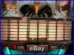 Original Vintage Antique 1957 Wurlitzer 2104 Like 1900 Jukebox 45 rpm