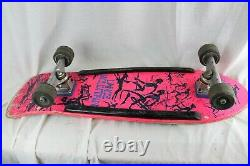RARE ORIGINAL VINTAGE HOT PINK Powell Peralta Lance Mountain 80's Skateboard