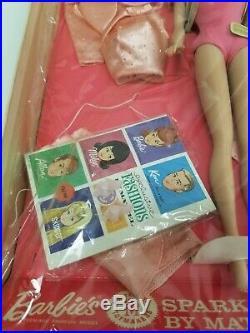 Rare NOS Vintage 1964 Original Barbie Sparkling Pink Gift Set #1011 NRFB VHTF