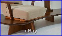 Samson Berman Chair sofa Mid Century Modern platform vintage lounge lamp suite