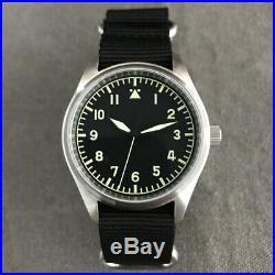 San Martin Men's Pilot steel Case Automatic Watch 20ATM Sapphire Glass NH35MOV'T