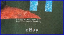 Sonic Youth Shirt Real vintage from 1992.'Dirty' album. Size XL