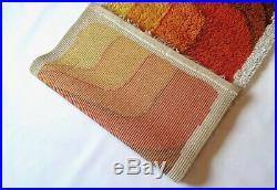 Stunning Original Desso Pop Art MID Century Shag Rug Vtg Carpet Colani