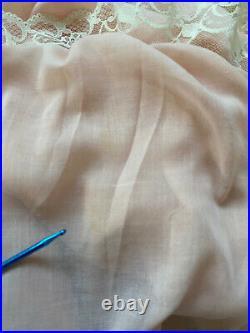 VINTAGE GUNNE SAX EYELET CORSET HIPPIE BOHO PRAIRIE MAXI DRESS VGUC Sz 9