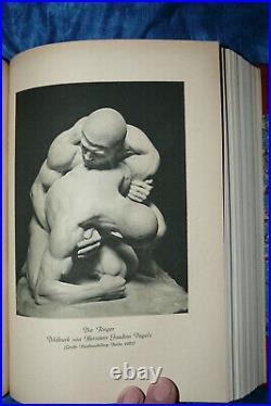 Velhagen & Klasings Monatshefte 36 1 1921 1922 antik Buch Prachtband gebunden