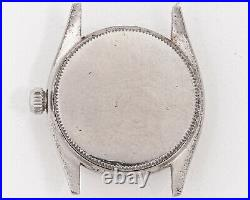 Vintage 1950's Rolex Oyster Speedking 6420 Stainless Steel with Original Dial