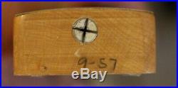 Vintage 1957 Fender Stratocaster Clean with Original Tweed Case