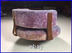 Vintage Adrian Pearsall Craft Associates 1426-RO Chair Authentic, Orig. Withtags