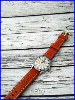 Vintage Aviator Russian Watch 2209 Men's Original Soviet USSR LACO Mechanical
