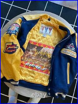 Vintage Avirex Varsity Leather Jacket