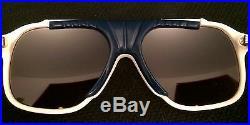 Vintage BJORN BORG Masters Pro Tennis Aviator Sunglasses White Bolle Deadstock