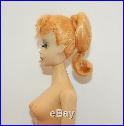 Vintage Blonde #3 Ponytail Barbie Doll ALL ORIGINAL